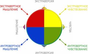 Модель поведения К.Г.Юнга